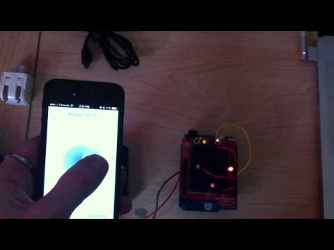 Talk to an Arduino With an IOS Device Using Bluetooth Low