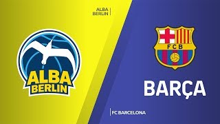 ALBA Berlin - FC Barcelona Highlights | Turkish Airlines EuroLeague, RS Round 27