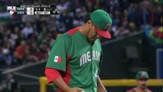 Mexico v USA (5-2) Baseball Highlights - World Baseball Classic Round 1 [08/03/2013]