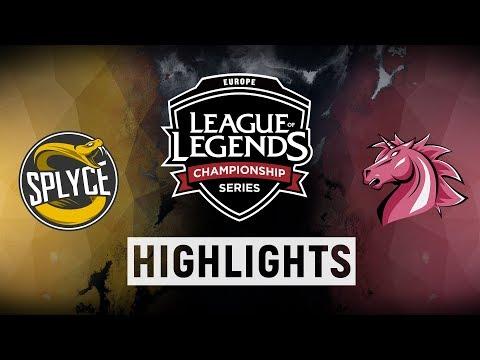 SPY vs. UOL - EU LCS Week 2 Day 2 Match Highlights (Summer 2018)