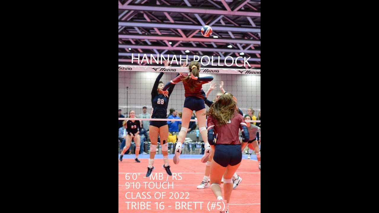 Hannah Pollock S Women S Volleyball Recruiting Profile