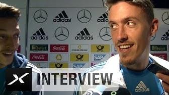 Max Kruse veräppelt Mesut Özil: Ein einziger guter Pass im ganzen Spiel | Deutschland - Georgien 2:1