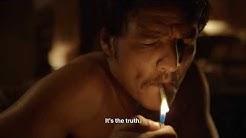 Javier Peña smoking cigarettes l Season 1 Narcos