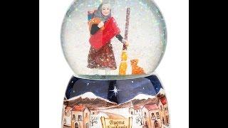 Befana snow globe Available at www.ItalianChildrensMarket.com La Be...