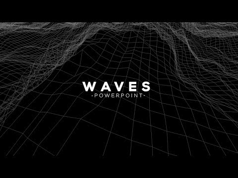 Wave animation in PowerPoint - Motion Graphic Tutorials