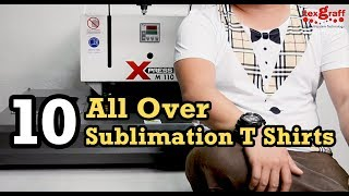 All Over Sublimation Printing on T-Shirts - Part 2 (The Fashion Show)