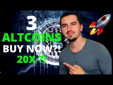 TOP 3 ALTCOINS I'M BUYING NOW 🤑 | CRYPTO April 2021 | Dogecoin To The Moon?!🚀|