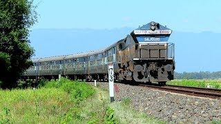 Train to Assam's beautiful TEZPUR town | 4500hp SGUJ EMD WDP4B with Rangiya - Dekargaon Passenger thumbnail