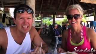 steve jessica s trip to sandals grande antigua resort spa