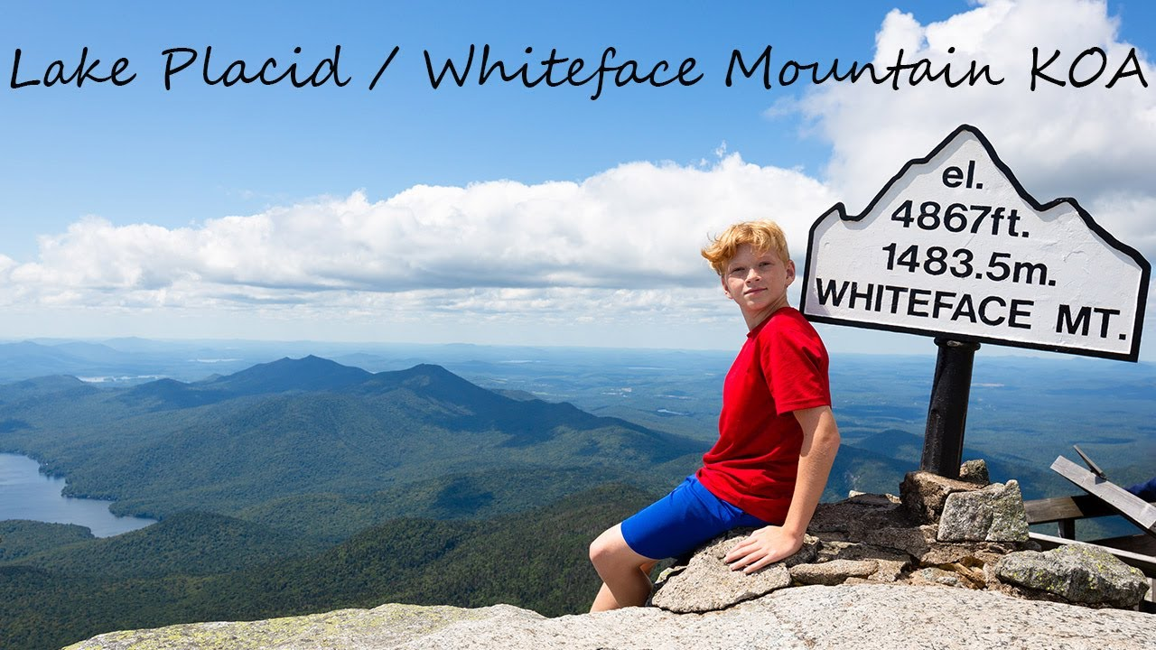 This hike enjoys switchbacks throughout and will certainly test your aerobic. Living Level Goes To Lake Placid Whiteface Mountain Koa Youtube