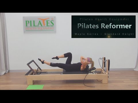Sample Routines | Pilates Timber Reformer - Standard Height | Pilates Health Equipment