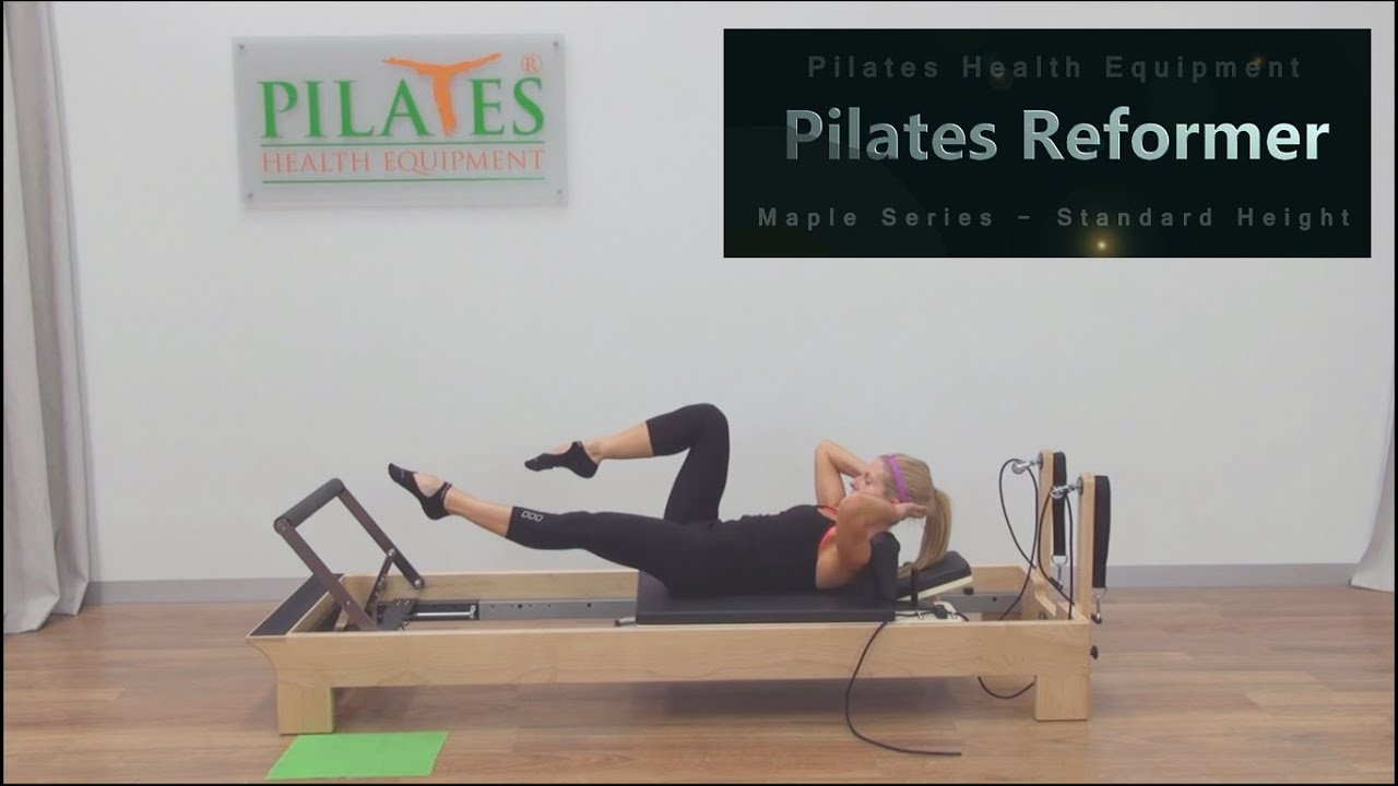 Sample Routines | Pilates Timber Reformer   Standard Height | Pilates  Health Equipment   YouTube