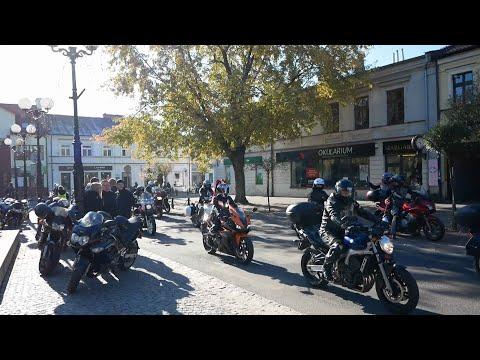 Zakończenie sezonu motocyklowego w Białej Podlaskiej