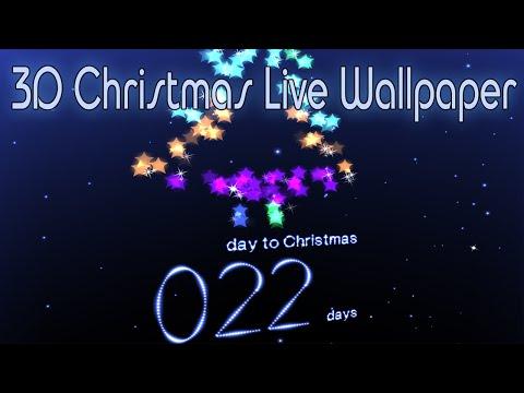 Живые обои: отсчет до Нового года, Рождества / 3D Christmas Live Wallpaper