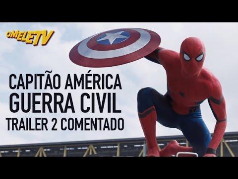 Capitão América: Guerra Civil - Trailer 2 Comentado
