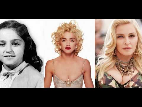 Madonna Transformation From 1 to 60