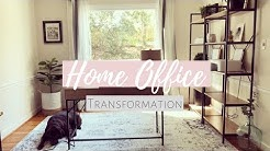 BUDGET-FRIENDLY HOME OFFICE TRANSFORMATION! DECORATE WITH ME!