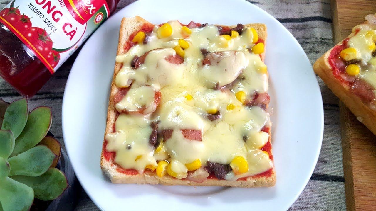 Cách Làm Bánh Pizza Mini Nhanh Tiện Lợi Không Cần Dùng Lò Nướng   Góc Bếp Nhỏ