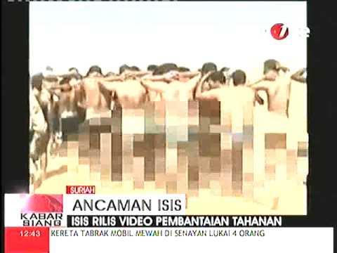 Video ISIS Membantai Ratusan Tahanan Di Suriah