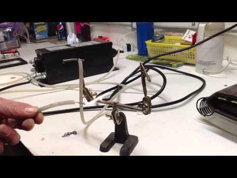 Jacobs Ladder melting solder