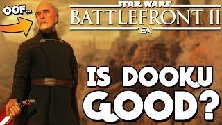 Star Wars Battlefront 2 - Is Count Dooku a Good Hero? Clone Wars DLC Gameplay!