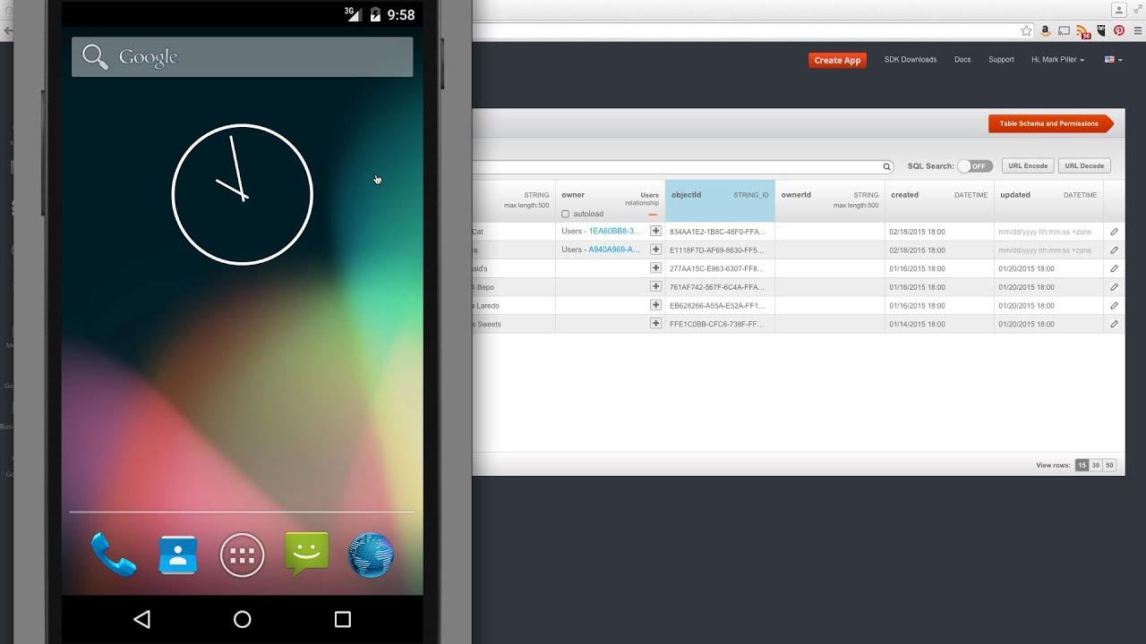 backendless sample app for android setting up dev environment