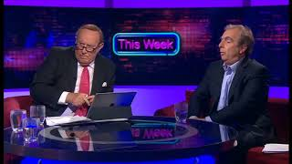Peter Hitchens - 'Should the UK have taken part in bombing Syria' BBC This Week April 2018