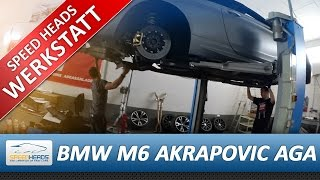 BMW M6 Akrapovic Titan Exhaust / Abgasanlage by BBM Motorsport Mp3