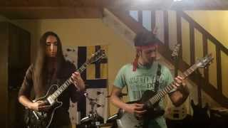 """Arch Enemy """"You Will Know My Name"""" Dual Guitar Cover"""