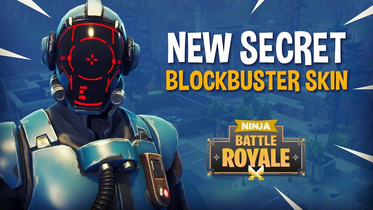 New SECRET Blockbuster Skin!! (The Visitor) - Fortnite Battle Royale Gameplay - Ninja