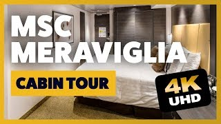 MSC Meraviglia tour of a Balcony Stateroom . We also review of our ...