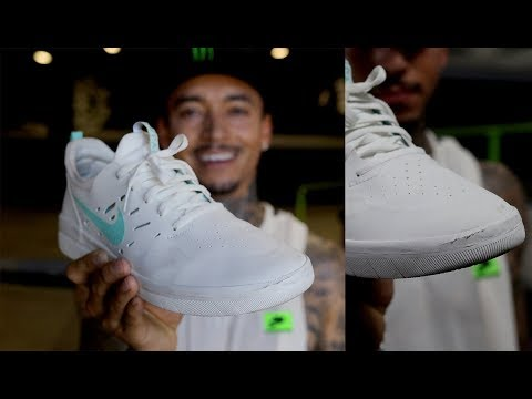 Nyjah Huston 100 Kickflips In The Nike SB Nyjah Free