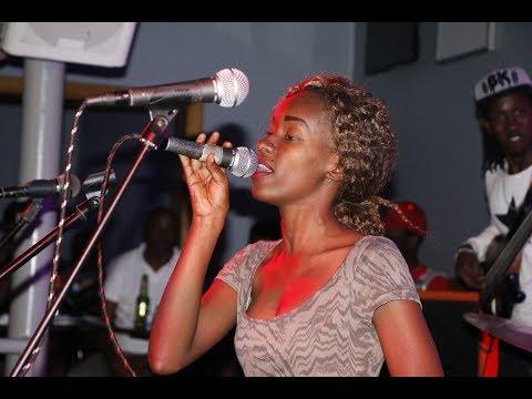 #indundi TV  Chare Jazz Band  Wibukushime Gretta on stage