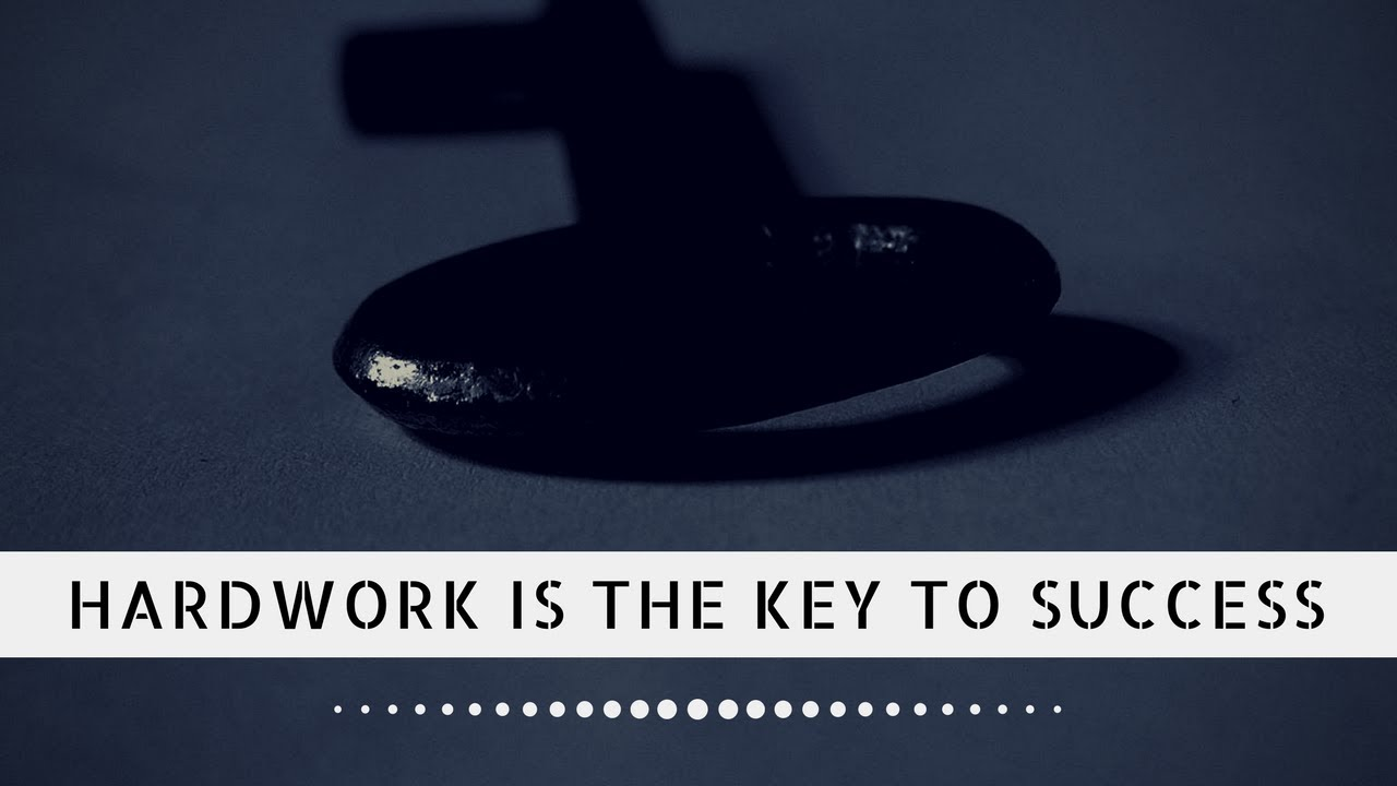 hard work is the key to success short essay Help essay: short essay on hard work is the key to 753 words essay on hard work leads to success.