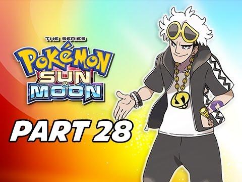 Pokémon Sun & Moon Walkthrough Part 28 - Po Town (3DS Let's Play Gameplay)