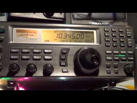HM01 Cuban Spy number station at 0600 UTC 10345 Khz Shortwave