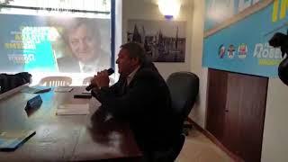 La presentazione del programma elettorale di Francesco Roberti