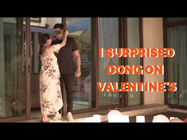 Valentine Special Part 2: I surprised my husband on Valentine's Day  | The Dantes Squad