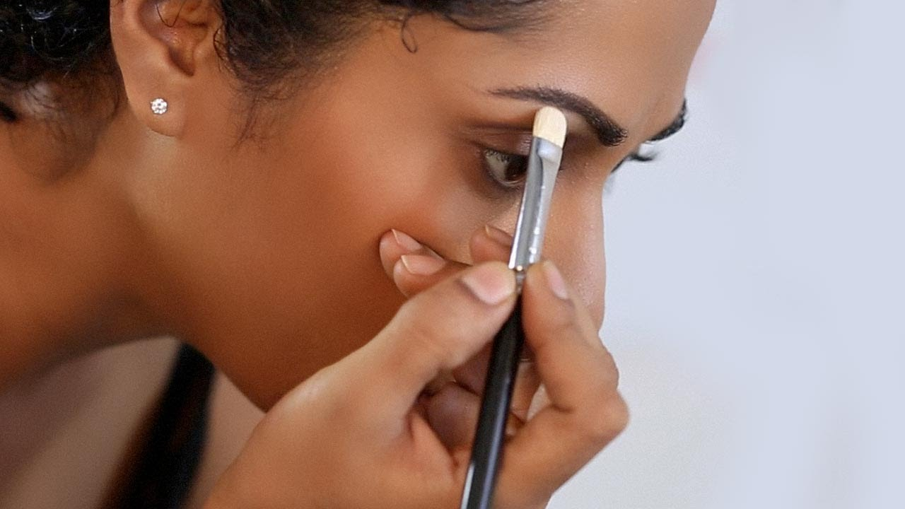 How To Enhance Your Eyebrows Makeup Tutorial Glamrs Youtube