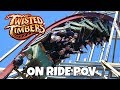 Clint Rides Twisted Timbers at Kings Dominion
