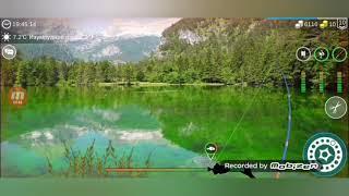 My Fishing World 7 11 уровень и рыбалка на Изумрудном озере