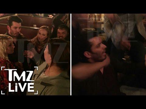 Property Brothers' Bar Brawl | TMZ Live