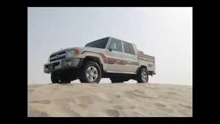 تطعيس شاص غمارتين موديل 2013 قطر سيلين land cruiser 70 dual cap on sand dunes