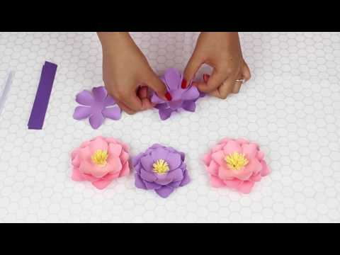 Mini Paper Flowers for Weddings and Events
