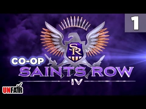 Saints Row 4 - Co-op Campaign - Part #1 - Hail To The Chief