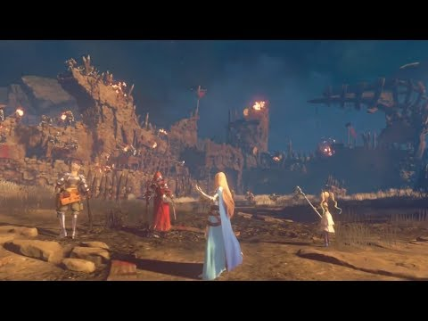 Granblue Fantasy Project Re:Link - Gameplay Footage (Japanese) Cygames, PlatinumGames