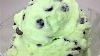 Mint & Chocolate Chip Ice Cream - 200th Recipe