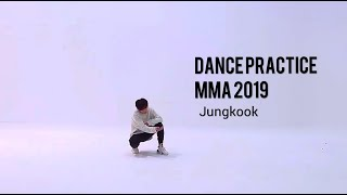 """""""JUNGKOOK """"Save me"""" Solo remix MMA 2019 BTS Dance Practice MIRRORED"""""""