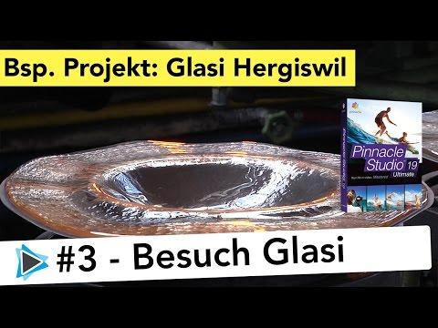 Videoprojekt Glasi Hergiswil #3 Eingangsbereich, Videoprojekt von A bis Z