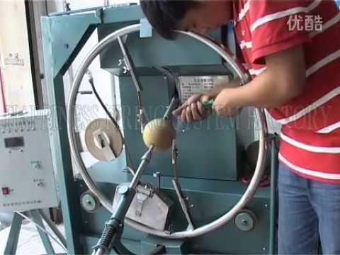 shell taping machine